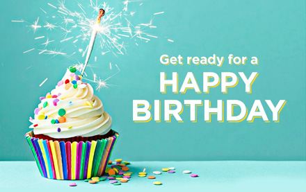 Shop Your Way Birthday Email